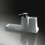 Sonia - S7 Soap Dish, Tumbler & Dispenser Freestanding - 131822