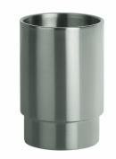 Spirella 10.15419 Nyo-Steel Brushed Toothbrush Mug