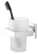 Tiger 2826 Items Bathroom Series Tumbler Holder with Glass