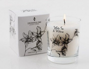 White Tea & Wisteria Scented Candle