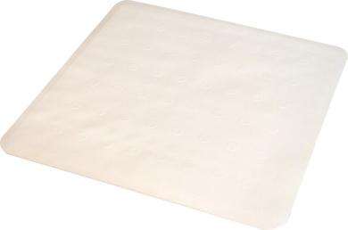 Ridder 1674010-350 Shower Mat 51 cm x 51 cm Basic White
