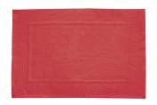 Wenko 19534100 Bathroom Mat 50 x 70 cm Cotton Red