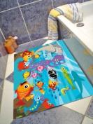 "Super Absorbent Bathmat 50x75 cm. ""UNDER THE SEA"""