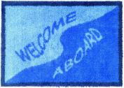 """""""Welcome Aboard"""" Turtle Mat Multi-Grip for all floors 60x40cm"""