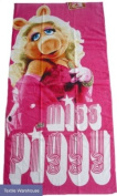 The Muppets Miss Piggy pink towel