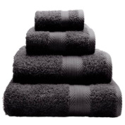CL Home 100% Cotton 450gsm Bath Towel, Grey