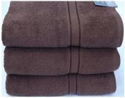 Egyptian Cotton Luxury Bathroom Towels 640g/m2 Bath Towel 70x130 cm approx. Brown