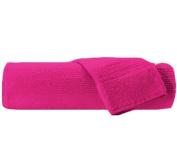 Fuchsia Bath Sheet / Towel 100% Egyptian Cotton