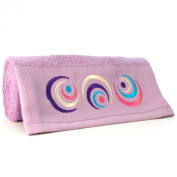 Let's Play Embroidered Bath Towel - Lilac