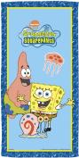 Spongebob Bubbles Bath Towel