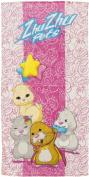 Zhu Zhu Pets Bath Towel, Pink