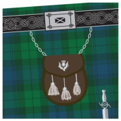 Black Watch Tartan Kilt Towel