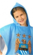Manchester City / Man City Hooded Poncho / Bath Towel
