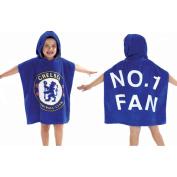 Chelsea FC Poncho - Hooded Towel Poncho