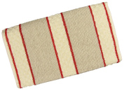 100% Cotton Traditional Terry Roller Towel - Red Stripe