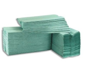 Cfold Paper Hand Towels 1 ply Green/Blue 2608