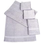 Dyckhoff 900536109 2x Hand Towels 100 x 50 cm and 2x Bath Towels 140 x 70 cm Stone