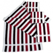 Dyckhoff 910736501 2x Hand Towels 100 x 50 cm and 2x Bath Towels 140 x 70 cm Blackberry