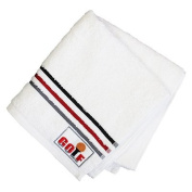 Golf Embroidered Hand Towel, Red