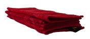 Gözze 550-4999-A3 Guest Hand Towel Set / 100 % Cotton High Quality 550 g / m² -kotex 100 Standard Red