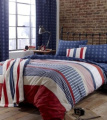 Catherine Lansfield Stars and Stripes Throw, Multi
