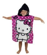 Character World Hello Kitty Hearts Hooded Poncho