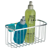 InterDesign Suction Basket, Chrome Finish Stainless Steel