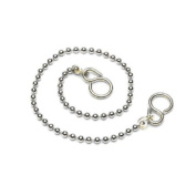 Star Pack Ball Link Bath Chain and 'S' Hook for Plugs etc