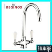 Reginox Elbe Traditional Victorian Kitchen Sink Mixer Tap