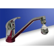 Kitchen Sink Tap by Ultra DTY306 Including Miracle Tap Sprayer C/P Black