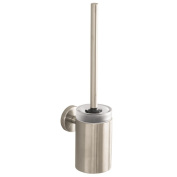 Hansgrohe 40522820 S and E Toilet Brush with Holder, Brushed Nickel