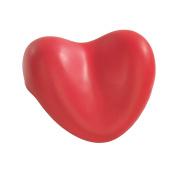 Wenko - 18938100 - Heart -Shaped Bath Tub Cushion - Tropic - Red