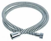 ADOB shower hose, 2,00 m, 2 way brass chrome connexion