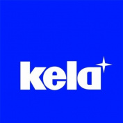 Kela Even 20988 Telescopic Shower Curtain Rail Aluminium 120 cm White
