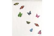 Opportunity Butterflies 11K12200002 Shower Curtain Polyethylene Vinyl Acetate White