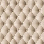Beige - 44861407 - Fabric Headboard Effect - Muriva Wallpaper
