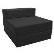 Z Bed Replacement COVER ONLY in Black. Great for Indoors and Outdoors. Made from High Quality Water Resistant Material, Available in 10 Great Colours