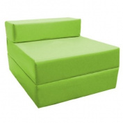 Z Bed Replacement COVER ONLY in Lime. Great for Indoors and Outdoors. Made from High Quality Water Resistant Material, Available in 10 Great Colours