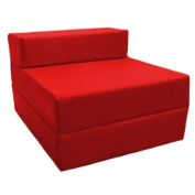 Z Bed Replacement COVER ONLY in Red. Great for Indoors and Outdoors. Made from High Quality Water Resistant Material, Available in 10 Great Colours