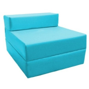 Z Bed Replacement COVER ONLY in Turquoise. Great for Indoors and Outdoors. Made from High Quality Water Resistant Material, Available in 10 Great Colours