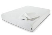 Hypnia 30cm Memory Foam Mattress with 2 Memory Foam Pillows, Double Size 4ft6 x 6ft3