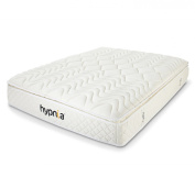 Hypnia Memory Foam Mattress with 5 Zone Target Support Pocket Spring Base, Double Size 1.2m x 0m6 x 1.2m x 0m3