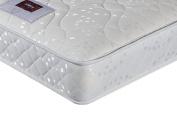 Airsprung Beds Sleepwalk Rolled Trizone Double Open Coil Mattress, 135 x 190 cm