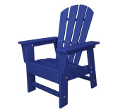 Polywood South Beach Garden Child's Chair Pacific Blue