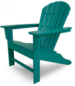 CASA BRUNO South Beach Adirondack Chair made of recycled Polywood® HDPE lumber, aruba - unconditionally weather-resistant