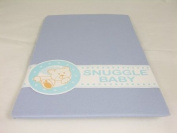 Snuggle Baby Blue Fitted Moses Basket Sheets