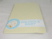 Snuggle Baby Cream Fitted Moses Basket Sheets
