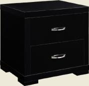 LPD Furniture Luna 2 Drawer Bedside Cabinet
