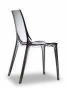 Scab Vanity Chair Smoke Transparent