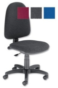 Trexus Office Operator Chair Permanent Contact High Back H510m W465xD450xH425-540mm Charcoal